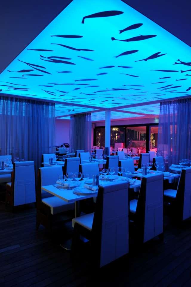 Salle du restaurant l'Auberge du port