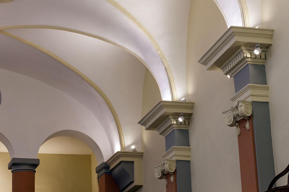 Eclairage murale de l'église St Jacques le majeur Greasque