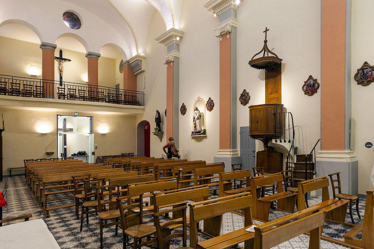 Eclairage de l'église St Jacques le majeur Greasque