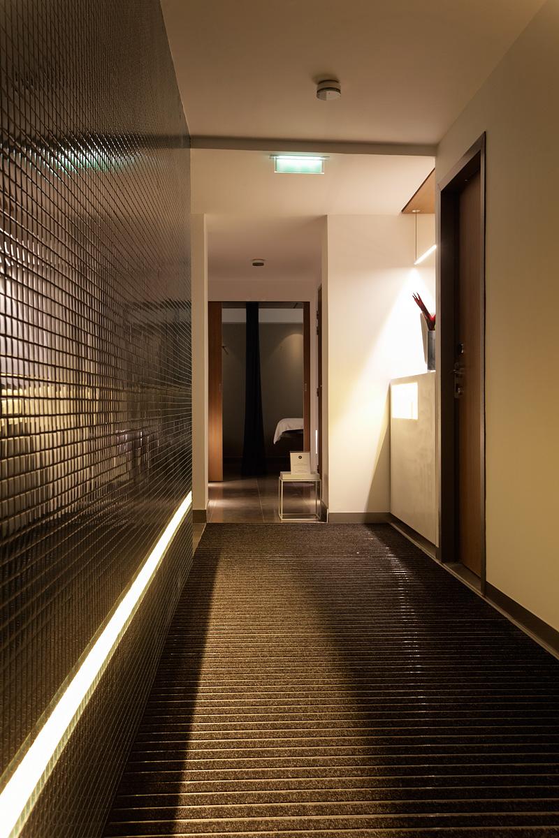 Eclairage du Spa de l'hôtel C2 Marseille
