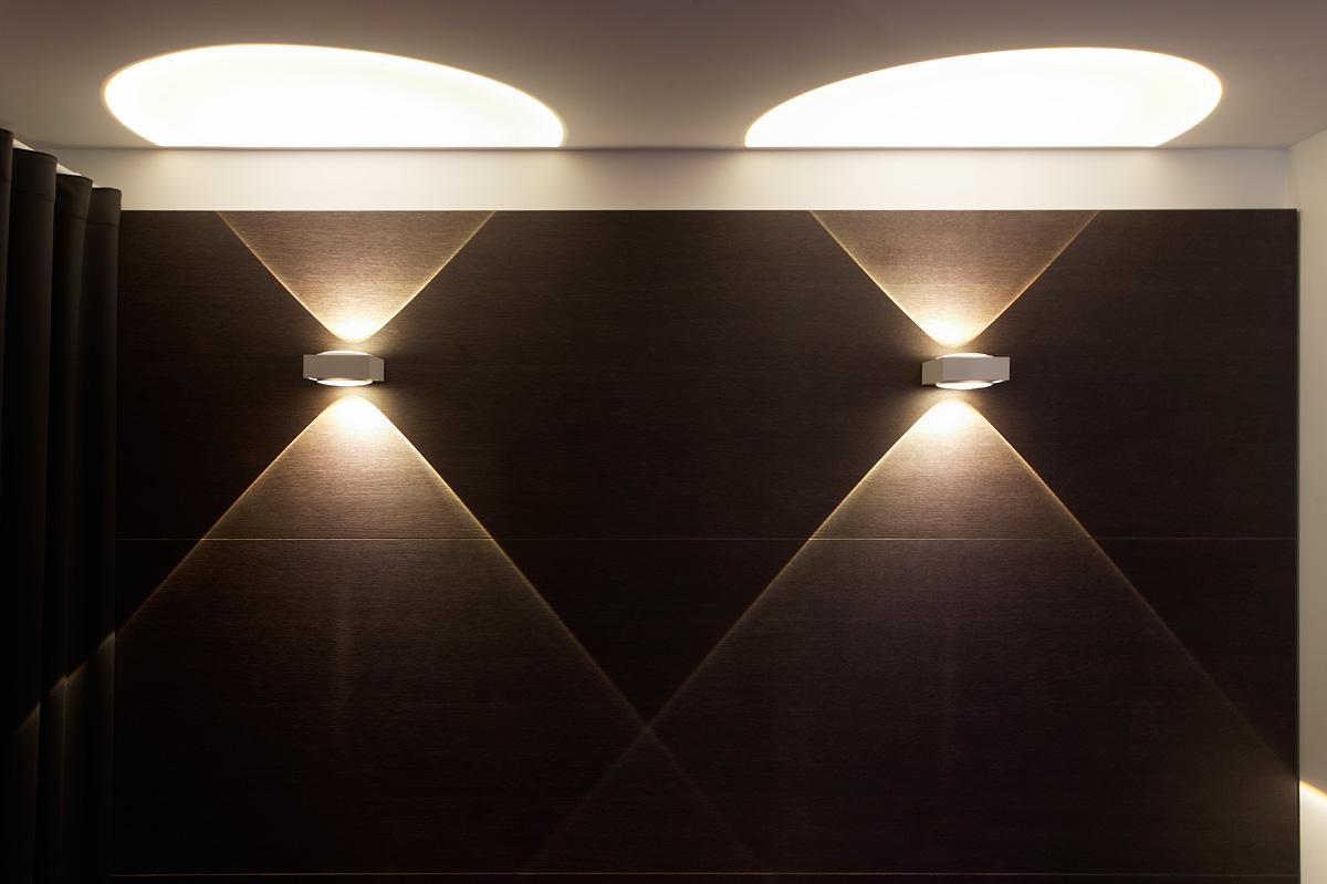 Eclairage graphique de l'hôtel C2 Marseille