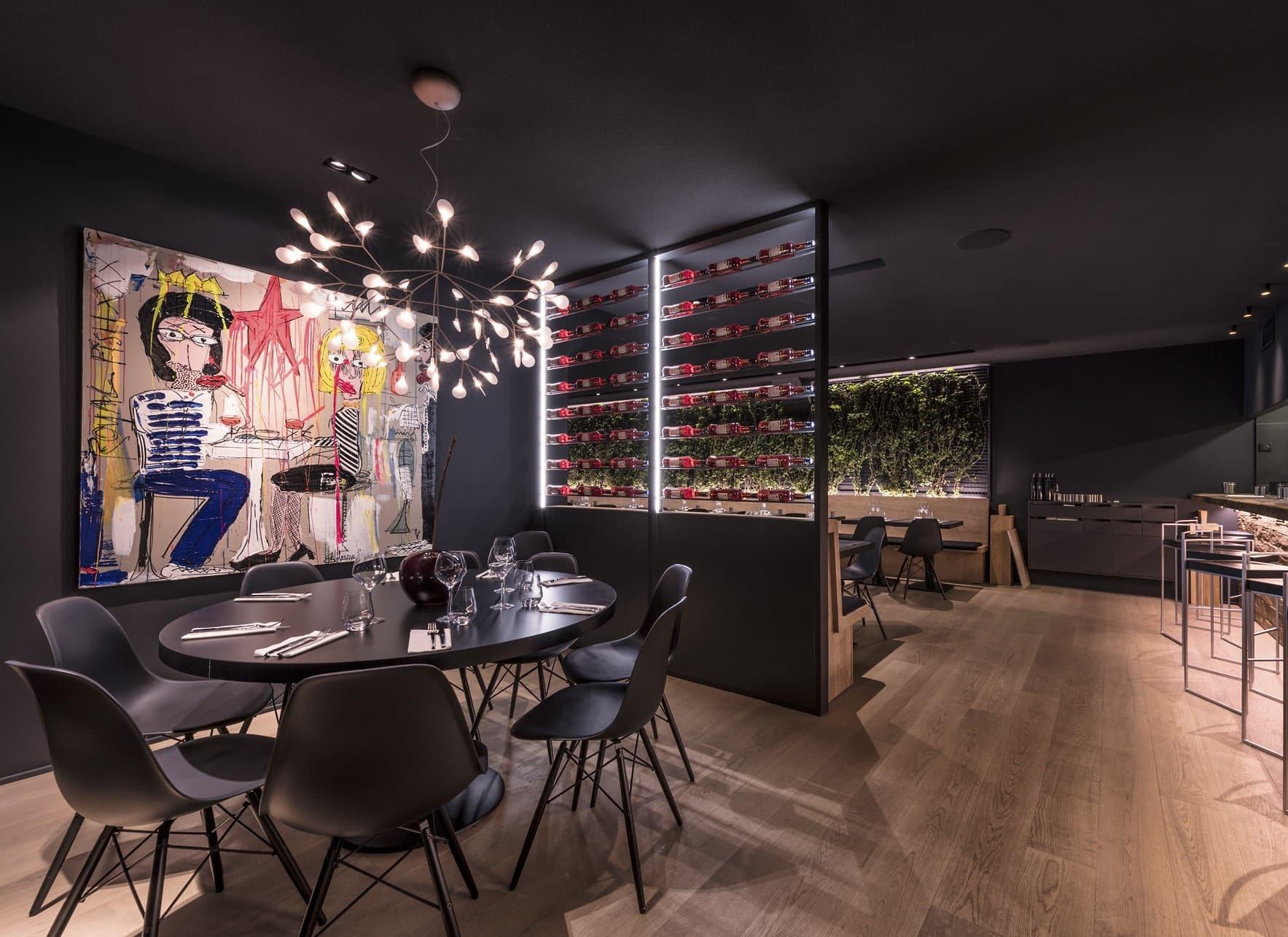 Salle de restaurant de L'Italien