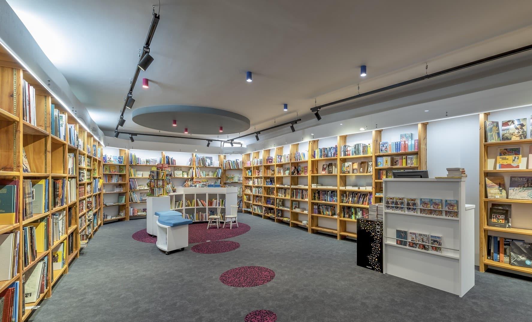 Vue d'ensemble de la librairie Mot à Mot