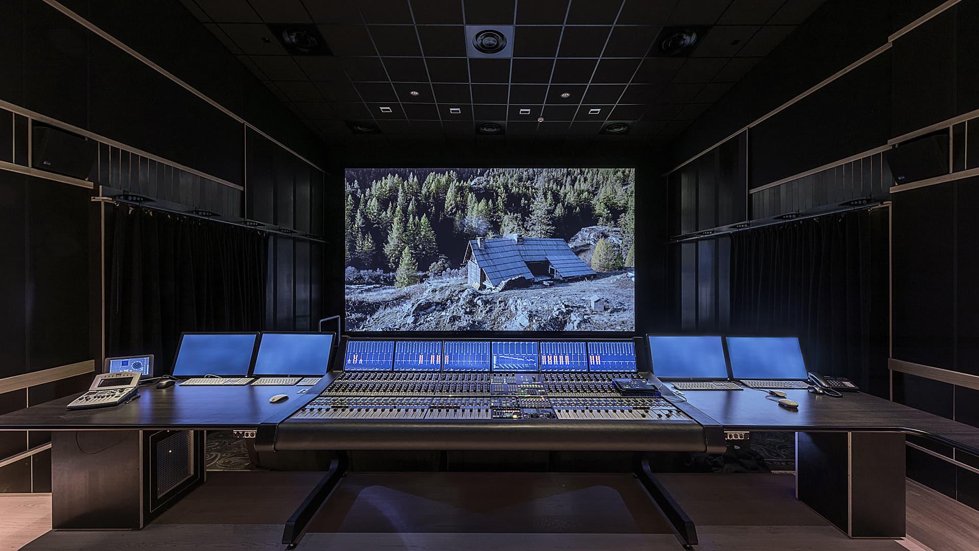 Eclairage du studio France 3