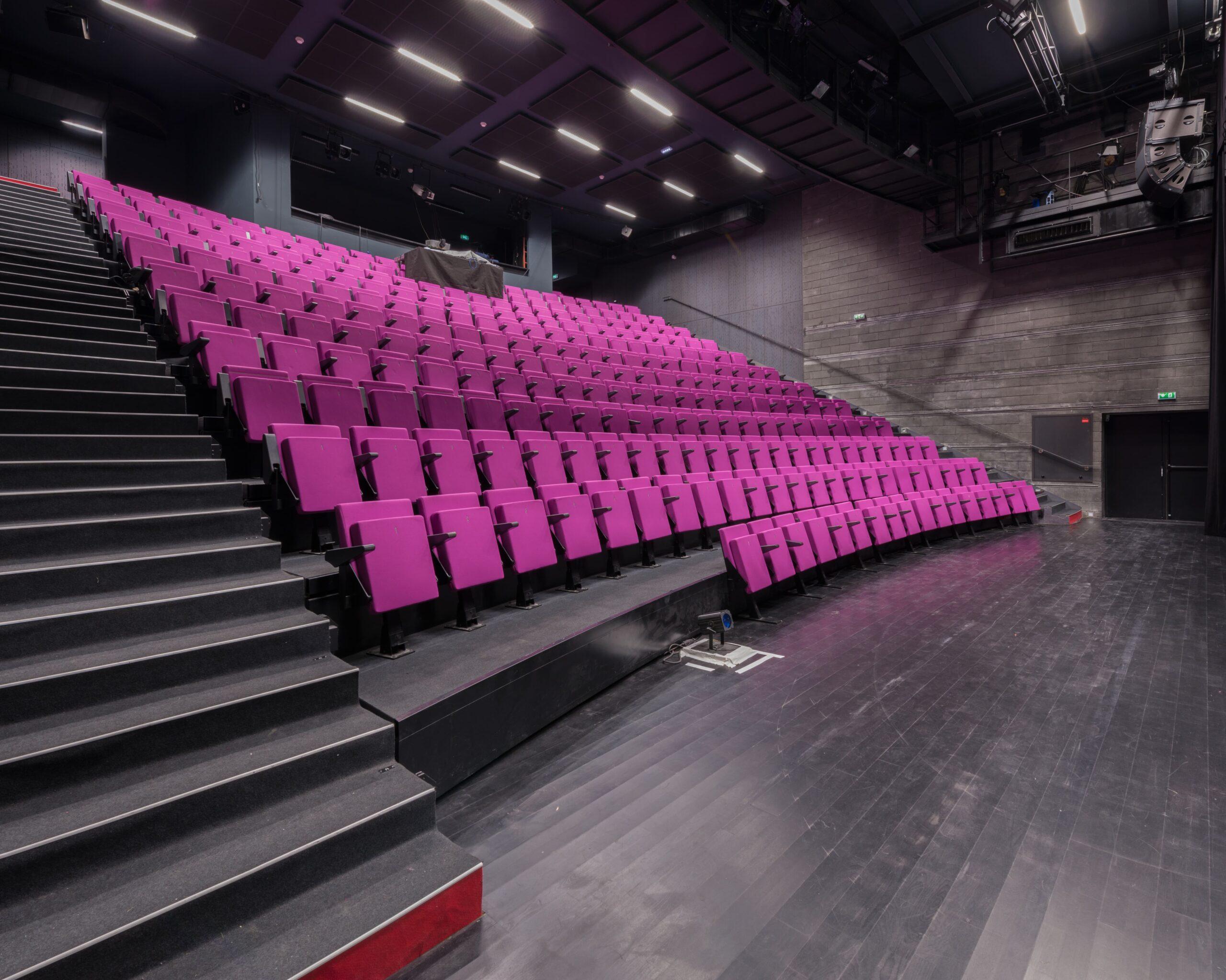 intérieur du Théâtre de la Minoterie