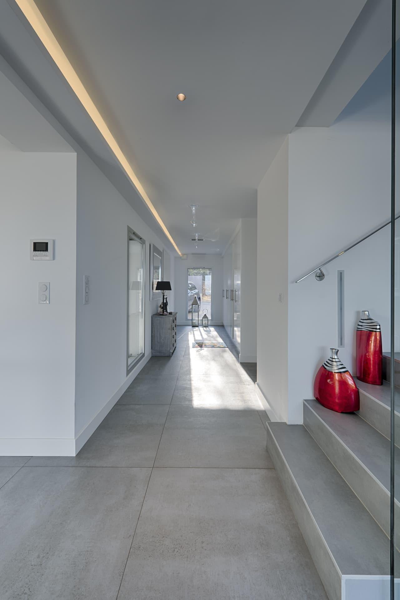 Couloir de la villa privée Echo