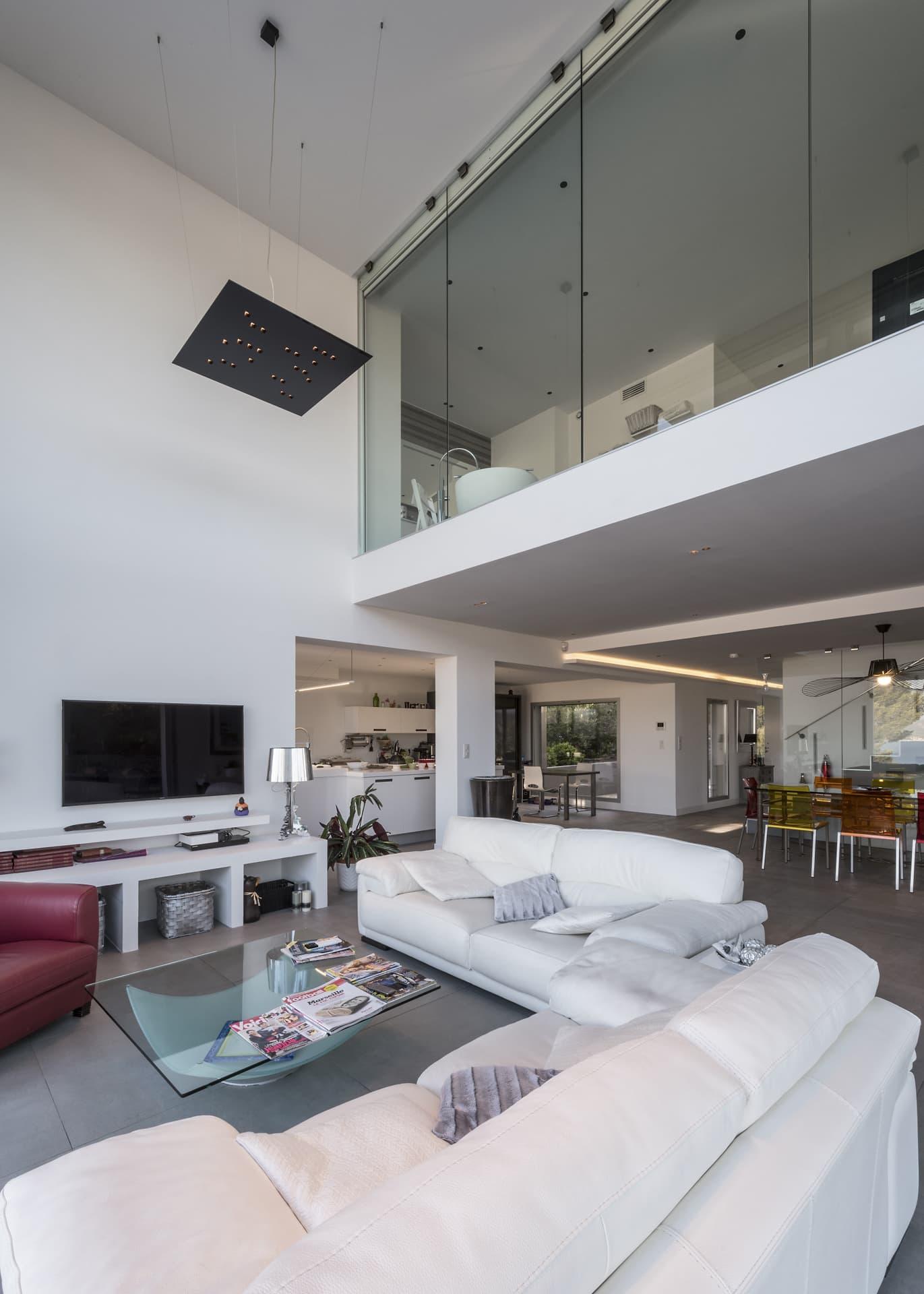 Salon de la villa privée Echo