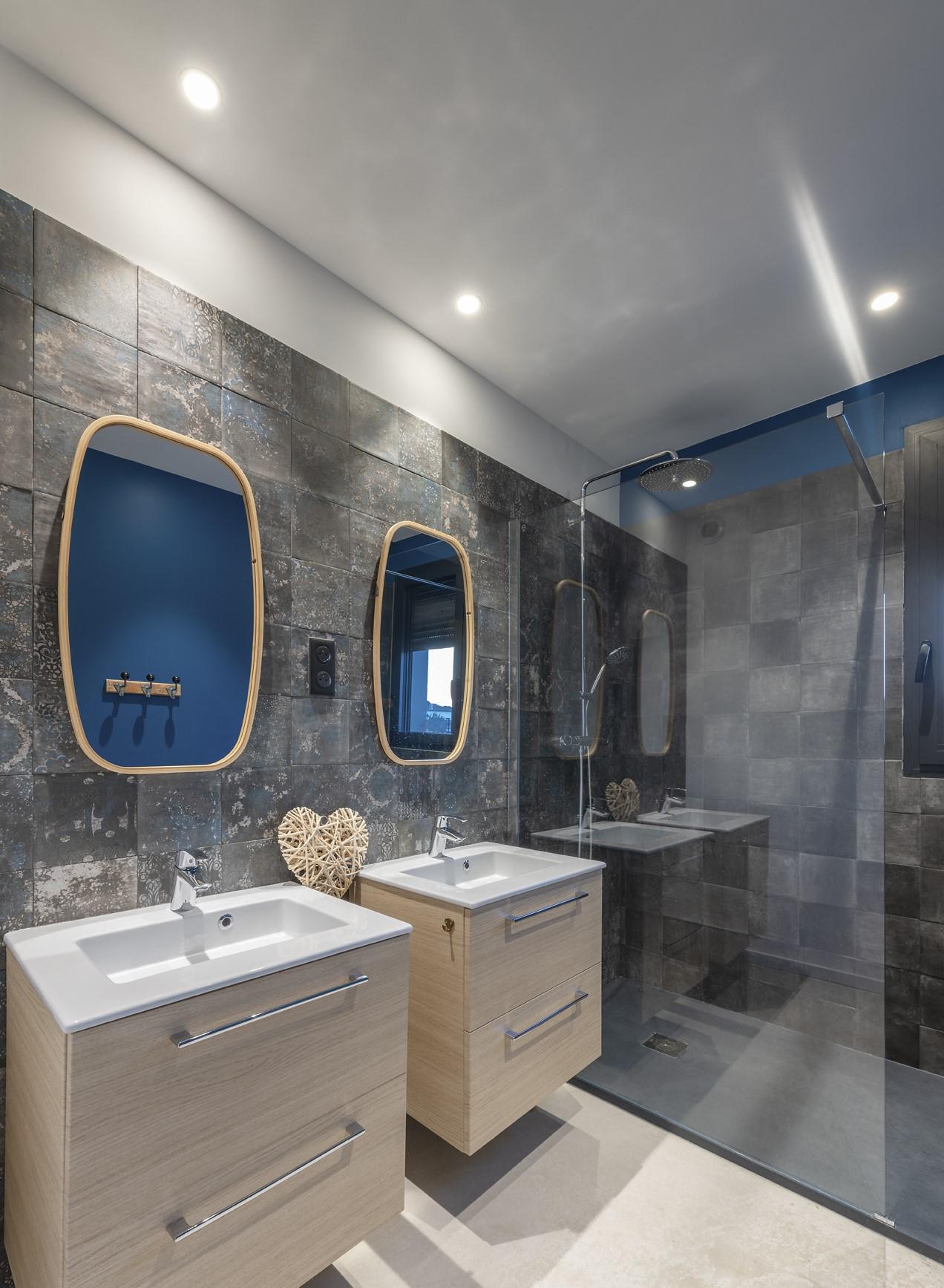 Salle de bain de la villa privée Zeta