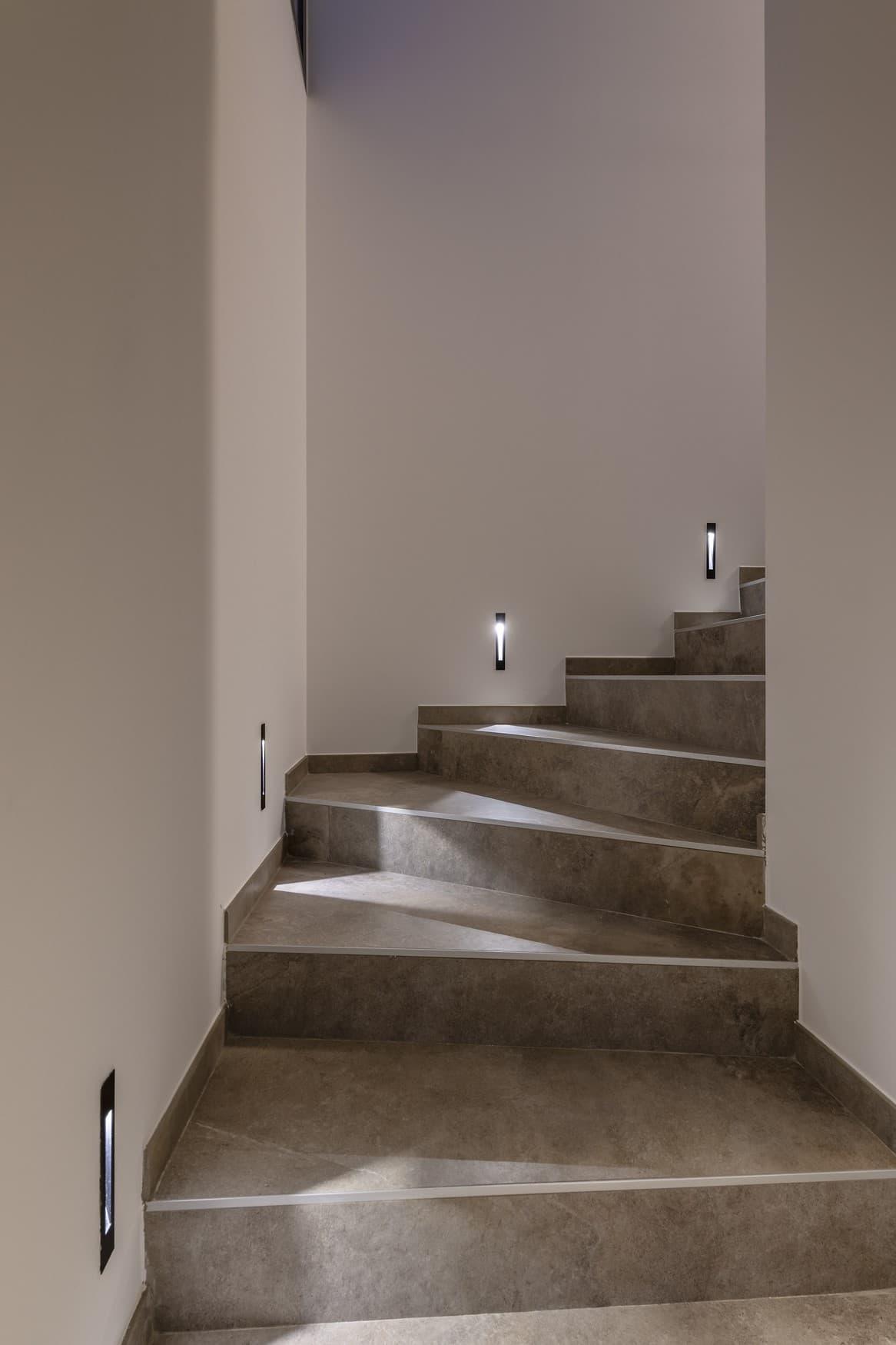 Escalier de la villa