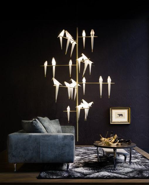 Lampe Moooi oiseaux par LM5P